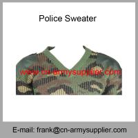 Buy cheap Wholesale Cheap China Military Wool Acrylic Army Camouflage Police Sweater from wholesalers