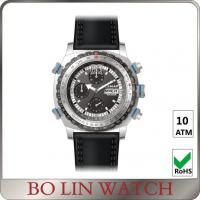 Buy cheap Army Filed Automatic Stainless Steel Military Watches With 3 Circles Date Display from wholesalers