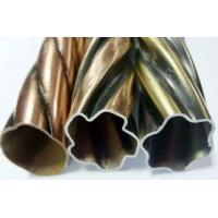 Buy cheap Reeded Pole Metal Curtain Rods , Curtain Tracks For Window Decoration from wholesalers