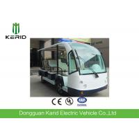 Buy cheap Eco Friendly Design Low Noise 8 Passenger Seats Electric Sightseeing Bus With Horn Speaker For Amusement Park from wholesalers