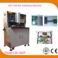 Buy cheap USB Automatic Hot Bar Soldering Machine with 0.02mm Welding Head Flatness , CW-2A2P from wholesalers