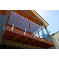 Buy cheap Balcony railing balcony balustrade glass railing product
