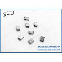 Buy cheap Pretinned Tungsten Carbide Saw Tips For Saw Blade Cutter Teeth from wholesalers