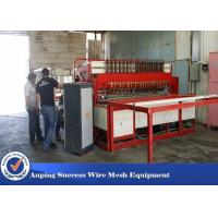 Double Line Wire Netting Machine , Wire Weaving Machine Multi Purpose