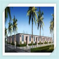 Buy cheap Environmental Prebuilt Modular Steel Garage Buildings Home With Kitchen , Toilets from wholesalers