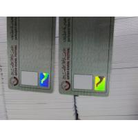 Buy cheap 2D/3D Hologram Label with Digital and True Color product