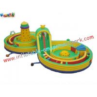 Buy cheap Outdoor Small Children Inflatable Amusement Park , Inflatable Sport Games Safe for Rental from wholesalers