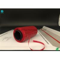 Buy cheap Red Envelope Tear Strip Tape / Hot Melt Adhesive Tearable Packing Tape from wholesalers