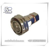 Buy cheap RoHS 7 / 16 DIN Male RF Feeder Connectors made by fined copper for 1 / 2  Super flexible Cable from wholesalers