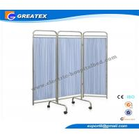Buy cheap Medical Hospital Furniture Ward Screen , Fabric 3 Folding Hospital Privacy Screens from wholesalers