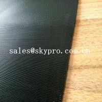 Buy cheap 3.5mm Diamond Black Rigid Rational Construction Natural Shoe Sole Rubber Sheet from wholesalers