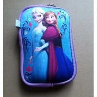 Buy cheap Disney cartoon digital storage camera bag, U disk bag with wristband, mesh pocket insided from wholesalers