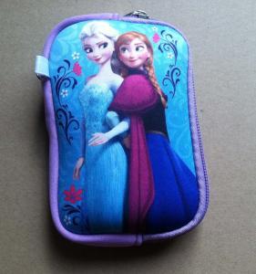 Buy cheap Disney cartoon digital storage camera bag, U disk bag with wristband, mesh pocket insided product