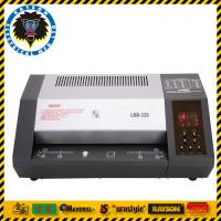 Buy cheap Professional Document Lamination Machine / Plastic Laminate Machine 8 Rollers from wholesalers