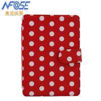 Buy cheap Amazon Kindle 4 / 5 Ereader Covers And Cases , Red Leather Rugged Case from wholesalers