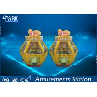 Buy cheap Automatic Gold Fort Casino Coin Pusher Game Machine Hardware And Acrylic Material Medal Game from wholesalers