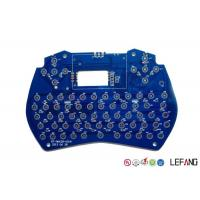 Buy cheap Communication Multilayer PCB Board 4 Layers FR4 Raw Material With Blue Solder product