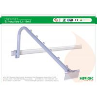 Buy cheap White Shop Retail Display Hooks , 19mm Waterfall Faceout Hooks 6 Ball from wholesalers