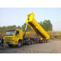 Buy cheap Color Optional Heavy Duty Dump Trailers 40 Tons Load Capacity And HYVA Lifting Sytem from wholesalers