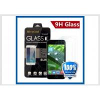 Buy cheap Iphone 6 Real Glass Cell Phone Screen Protector Self Adhesive Film 0.33mm 9H from wholesalers