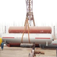 Buy cheap Cambodia Gas Station Used 30M3 Horizontal Stationary LPG Tank from wholesalers