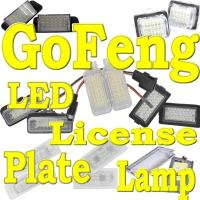 Buy cheap AUDI A4 B7,B8 2010 LED license plate lamp bulb from wholesalers
