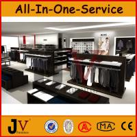 Buy cheap Wooden display rack for men clothes shop from wholesalers