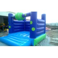 Buy cheap Ocean Blue Commercial Bounce Houses Jumping With PVC Tarpaulin from wholesalers