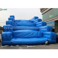 Buy cheap Outdoor Giant Moonbounce Inflatable Obstacle For Adults Outdoor Mud Run from wholesalers