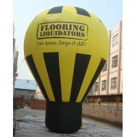 China PVC Tarpaulin Inflatable Balloon , Inflatable Ground Balloon for Advertising on sale