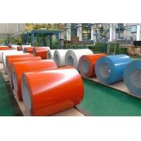 Buy cheap Colorful Silicone Coated Galvanized Steel Coil With 0.12-1.5mm Thickness product