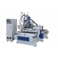 Buy cheap Plate Solid Wood Furniture CNC Wood Cutting Machine Engraving Router With Tool Changer from wholesalers