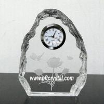 Buy cheap crystal iceberg clock from wholesalers