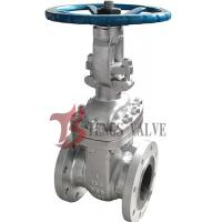 Buy cheap Flanged Cast Steel Gate Valve ASTM A216 WCB With Rising Stem RS 150LB from wholesalers