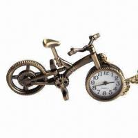 Buy cheap Durable Quartz Pocket Watch, Can be Used for Long Time, Various Colors are Available from wholesalers