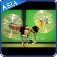 Buy cheap CE standard Inflatable Bumper Ball / TPU bubble soccer / Football zorb / Knocker ball from wholesalers