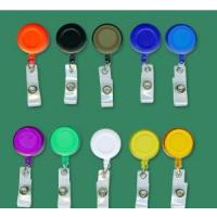 Buy cheap Retractable badge holder with clear vinyl strip from wholesalers