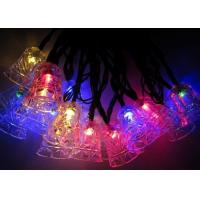 Buy cheap Jingle Bell 4.8m Solar Powered Decorative String Lights With 20 Bulbs from wholesalers