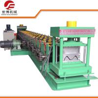 Buy cheap PPGI / GI Materials Guardrail Roll Forming Machine With 2 - 4 mm Working Thickness from wholesalers
