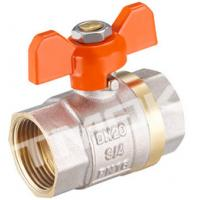 Buy cheap 1/2 inch brass ball valve with brass body stainless steel butterfly handle and CE approved from wholesalers