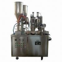 Buy cheap Packing Machine, Suitable for Filling and Sealing Double Color Material and Automatic Tube Feeding from wholesalers