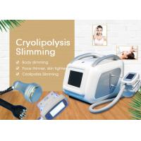 Buy cheap Mini Cryolipolysis Slimming Machine / Weight Loss And Skin Tightening Vacuum Cavitation System from wholesalers