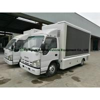 Buy cheap ISUZU LED Display Mobile Advertising Trucks , Full Color LED Screen Truck from wholesalers