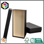 Buy cheap Black Color Printing Paper Christmas Gift Box; Custom Logo Paper Gift Box Set from wholesalers