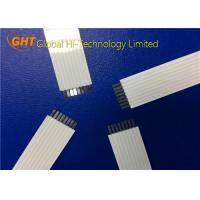 Buy cheap OEM / ODM 8 Pin Flat Ribbon Cable With Supporting Tape For Fax Machine / Copier from wholesalers