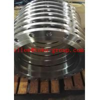 Buy cheap ASME B16.5 Standard pressure vessel flange AISI 4130, AISI 4140, 42CrMo, 42CrMoA from wholesalers