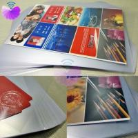 Buy cheap PVC Coated Overlay MCO-W/PVC coated overlay for card body lamination/glue coated film/Card lamination materials from wholesalers