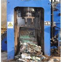 Buy cheap Automatic Scrap Shear Baler For Copper 3 - 4 Times / Min Cutting Frequency from wholesalers