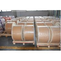 Buy cheap High Strength 30% CCS CATV Inner Conductor , Copper Clad Steel Wire For Electronic Products from wholesalers