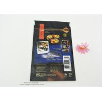 Buy cheap Resealable Snack PET Laminated Aluminum Foil Plastic Packaging Bag Food Grade Smell Proof Reusable product
